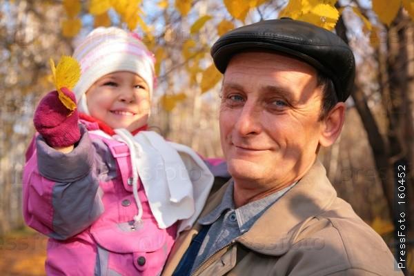 Поговори с внучкой, дед! внучка, дед