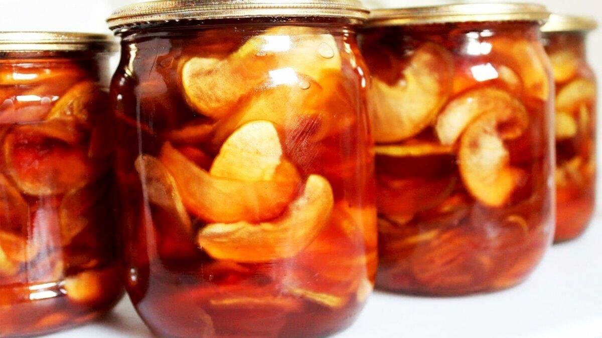 Прозрачные яблочные дольки, как цукаты: ароматное варенье на зиму