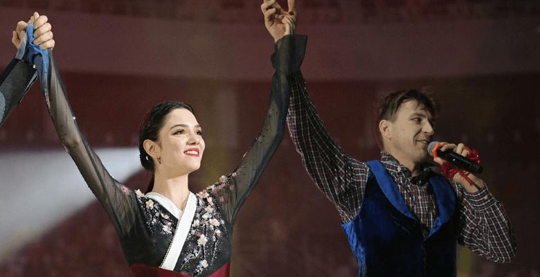 Евгения Медведева и Алексей …