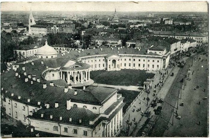 Панорама Москвы с Сухаревской башни.