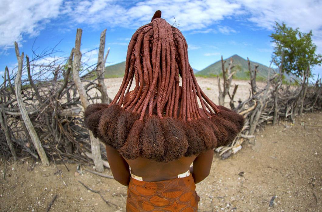 Намибия волосы, прическа