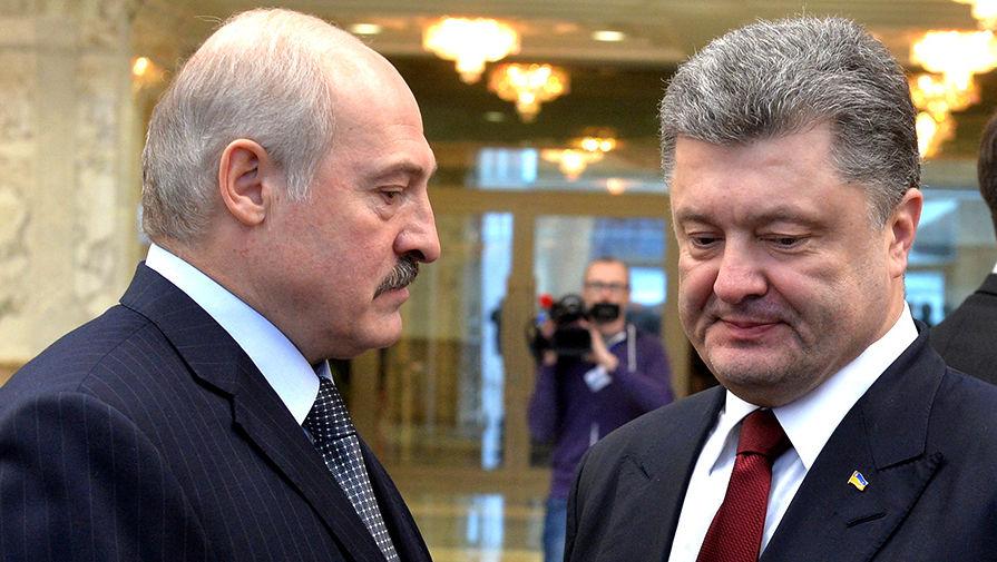 Москва бьет дуплетом по Порошенко и Лукашенко