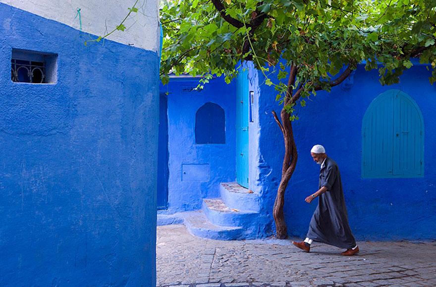 Голубой город 20 бесподобных фотографий