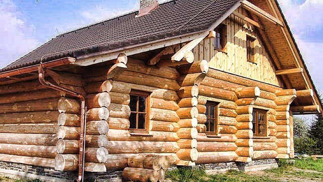 это фото старинных деревянных домов из бревна такого
