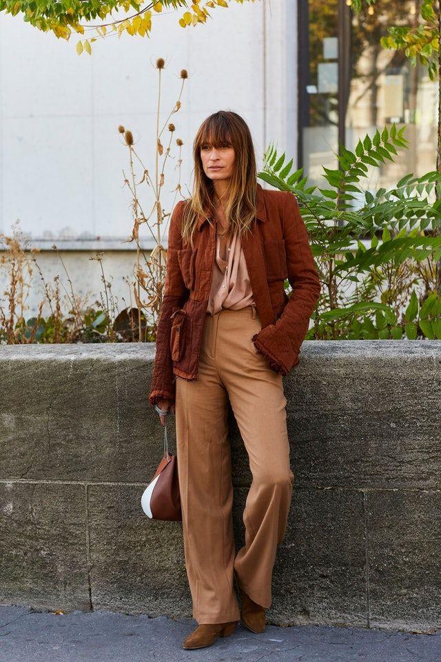 модные образы осень
