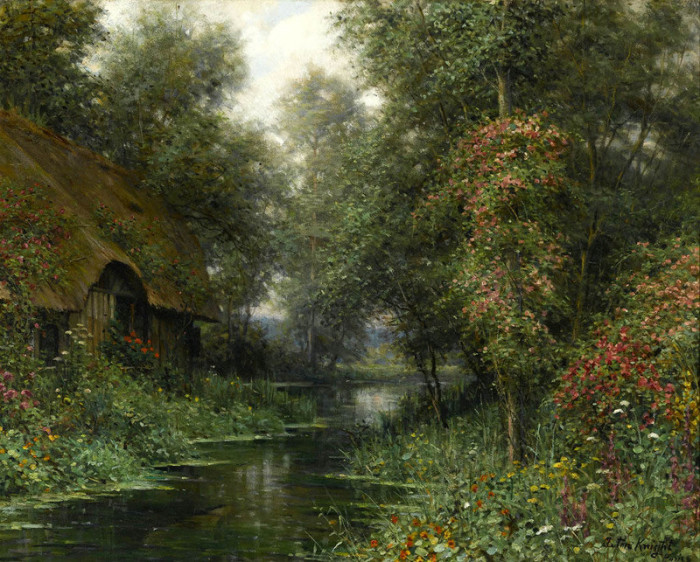 Автор картины – французский художник Луис Астон Найт (Louis Aston Knight).