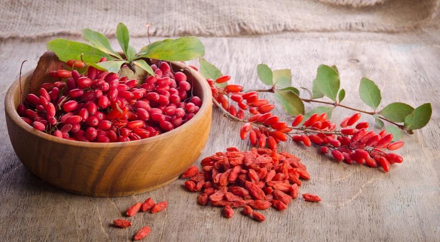 Правда ли, что барбарис и ягоды годжи это одно и то же?