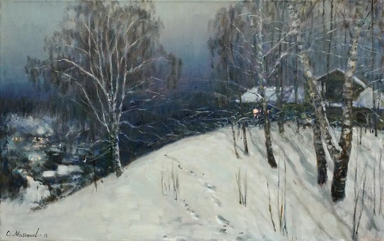 художник Олег Иванович Молчанов картины – 05