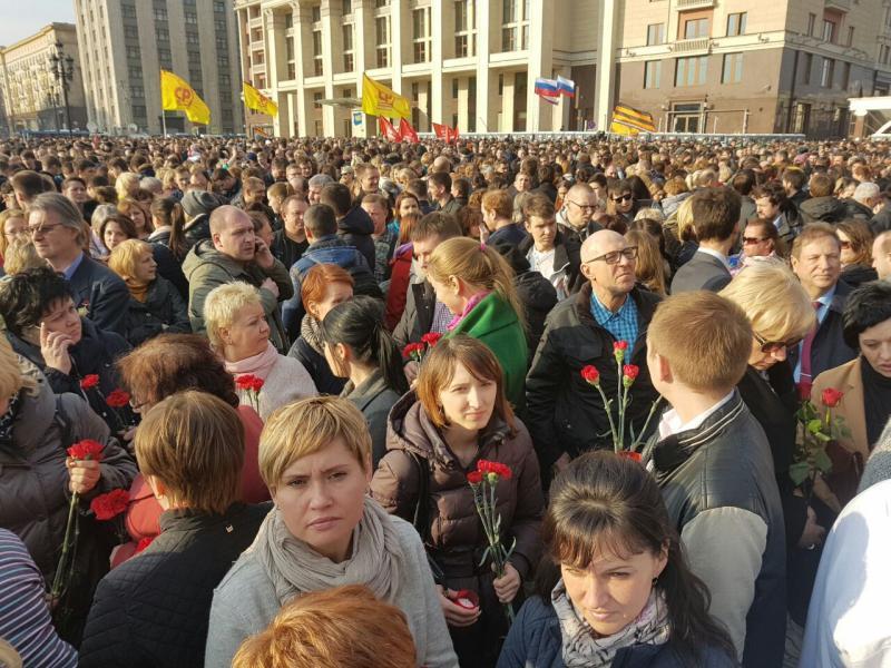 В Москва началась акции памя…