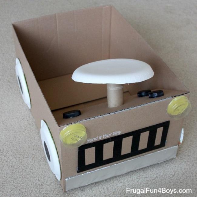 35 обалденных идей, которые убедят вас не выбрасывать коробки