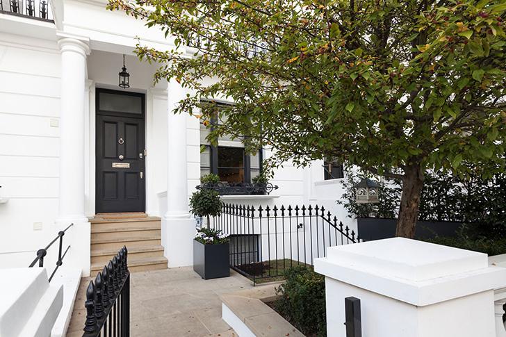 Таунхаус с уютным задним двором в Лондоне