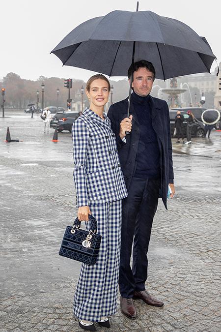 Наталья Водянова и Антуан Арно впервые вышли в свет после свадьбы Звезды,Звездные пары