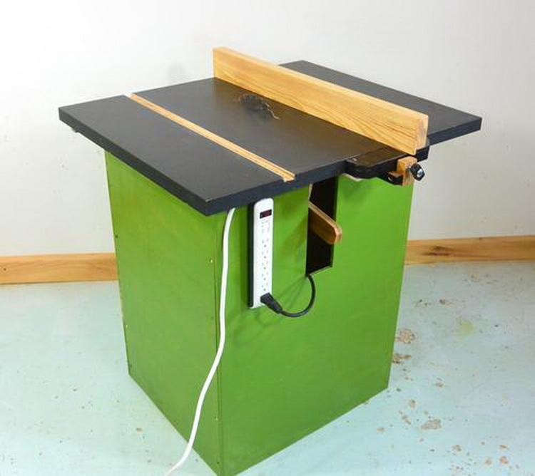 Стол для циркулярной пилы (полный проект, чертежи)