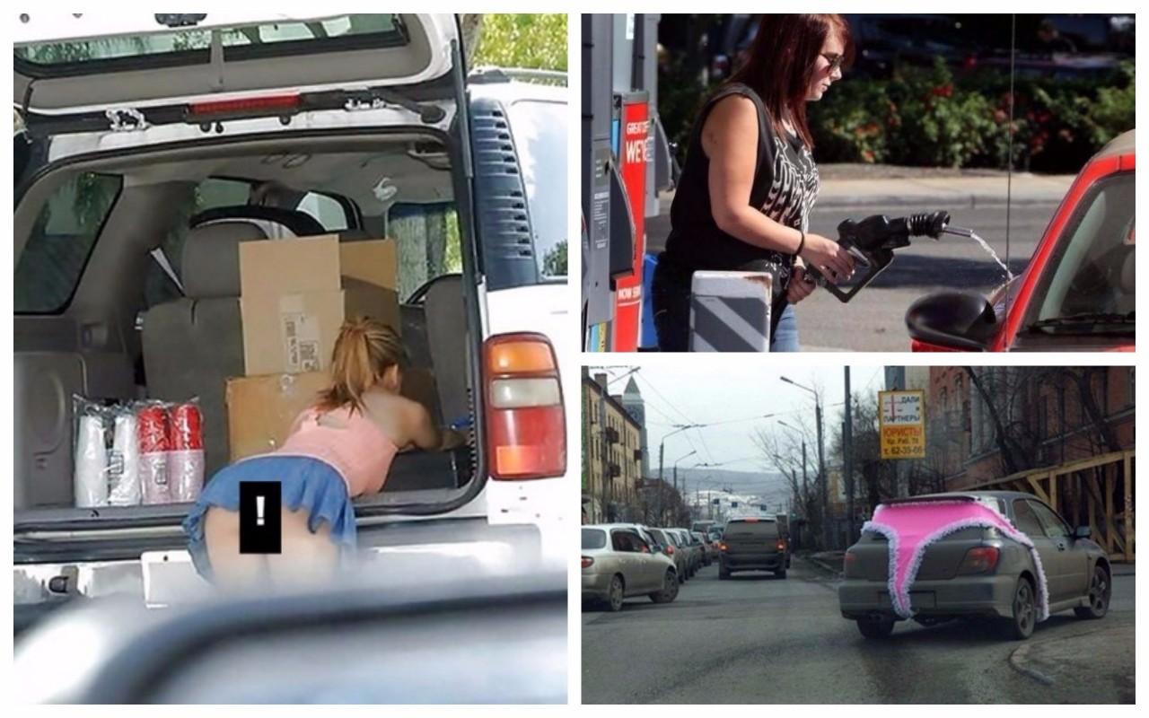 Вот что случается, когда за руль садится истинная автолед