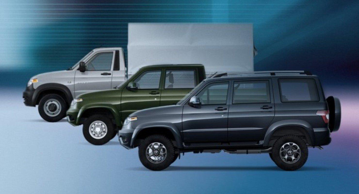 УАЗ запускает сервис подписки на автомобили Автомобили