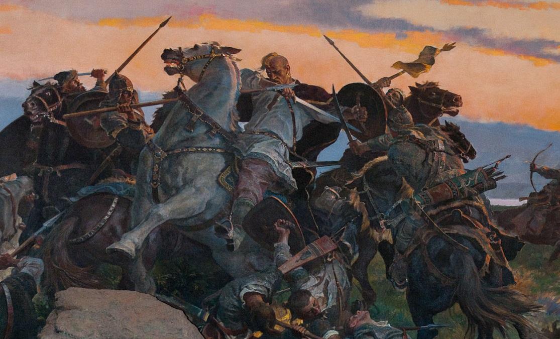 Великий Князь Русский Святосла́в И́горевич история,история Россиии