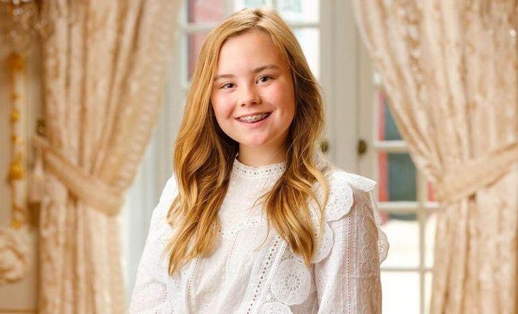 Опубликован новый портрет младшей дочери королевы Нидерландов Максимы к ее дню рождения