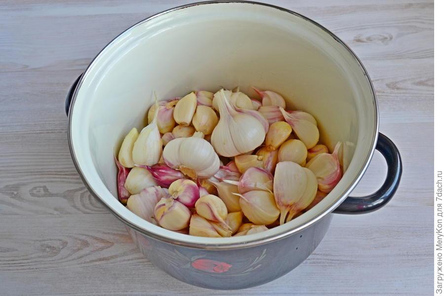 Маринованный чеснок на зиму. Идеальный рецепт готовим дома,заготовки