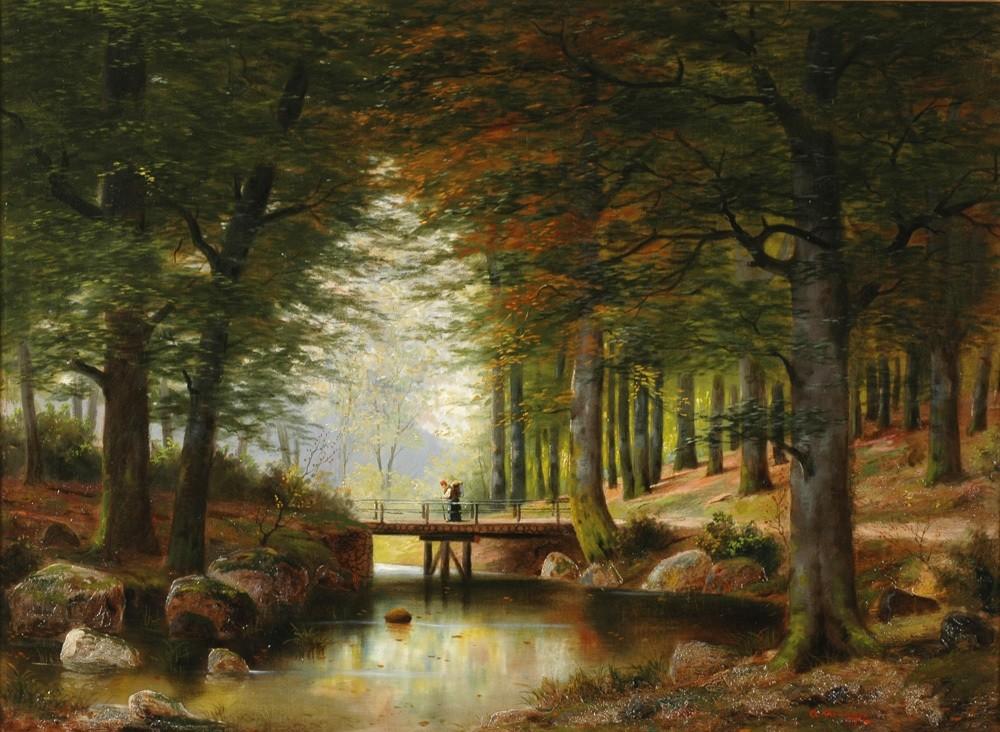 Сказки Венского леса (часть 2) Горы, Озеро Seegrotte, Замок Liechtenstein