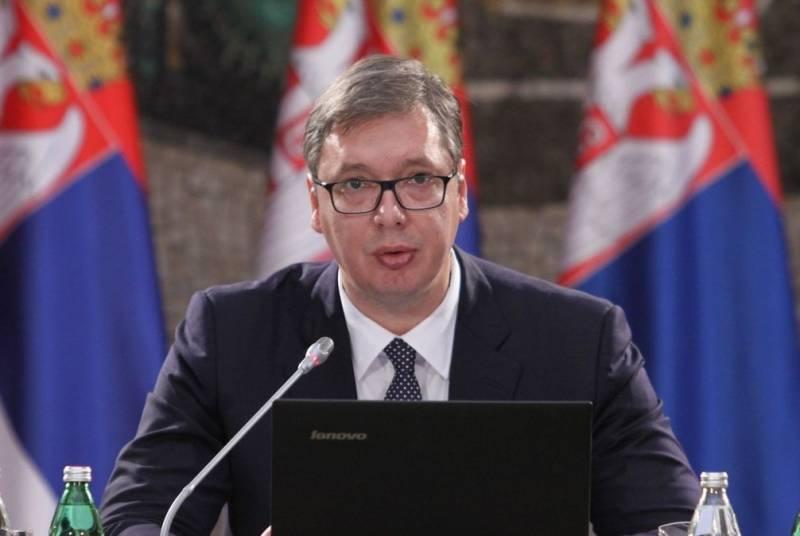 Вучич: Сербия простит бомбар…