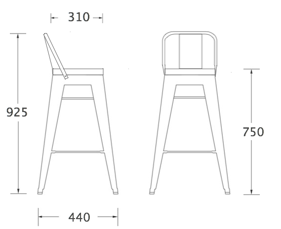 Чертежи и схемы стульев своими руками 197
