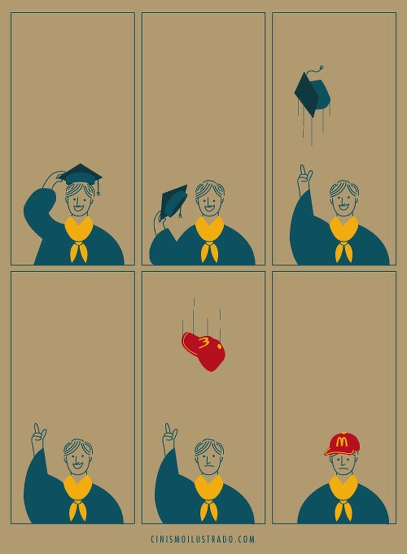 Высшее образование картинка смешная