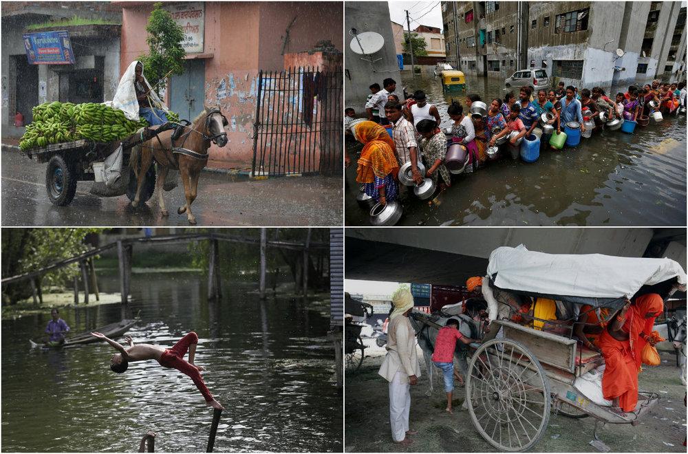 Фото из  жизни людей и событий в Индии