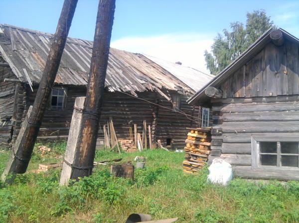 старая часть дома под снос