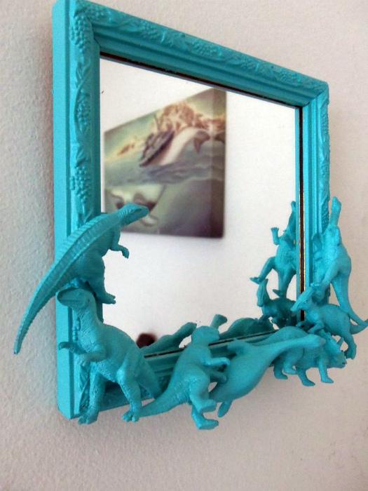 Авторская рама для зеркала.