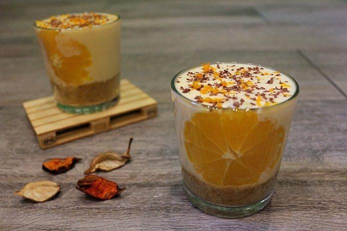 Нежный и вкусный десерт в стакане для праздничного стола или просто для любимых!