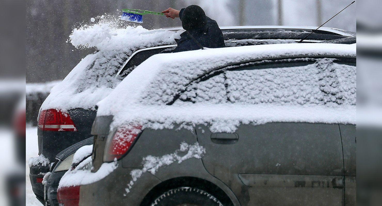 Столицу посетит 30 градусный мороз. Рекомендации для автомобилистов Автомобили