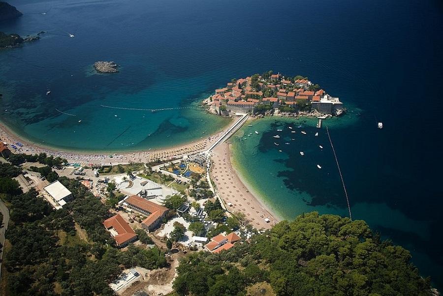 черногория остров святого стефана фото первых основном отдыхают