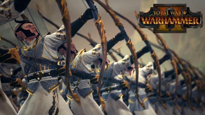 Битвы высших эльфов в геймплейном ролике Total War: Warhammer 2
