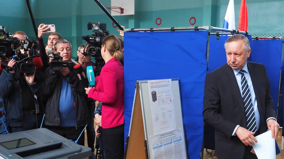 Видео, рассказывающее о причине успеха Беглова на выборах