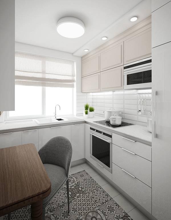 Столешница вместо подоконника на кухне - фото квартир
