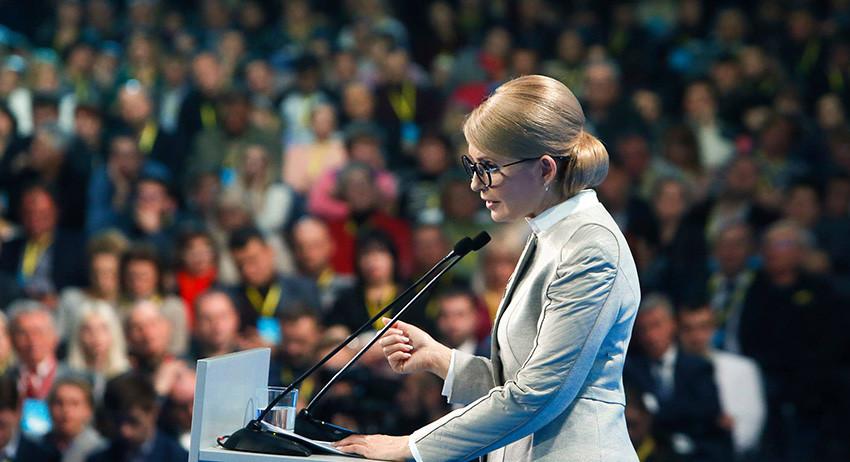 Тимошенко назвала Украину самой бедной страной континента