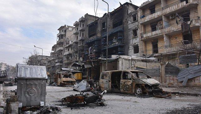Российские военные передали 1,3 тонны гумпомощи жителям Алеппо и Латакии