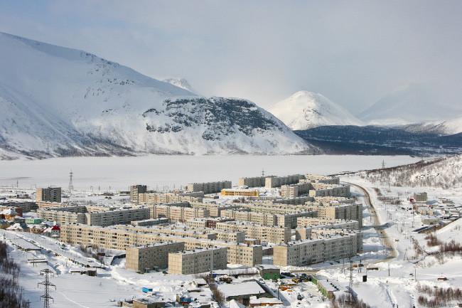 9 Мурманская область - Площадь 145 тыс. кв. км область, россия, факты