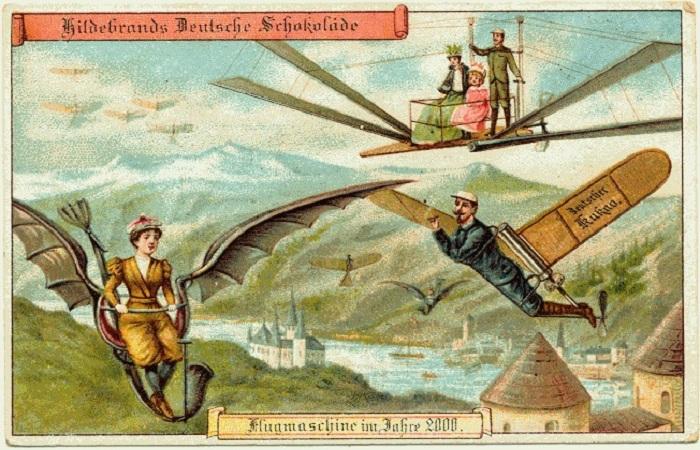 Жизнь через 100 лет: каким видели будущее люди в 1900 году
