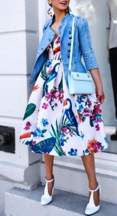 Уличный стиль — модные летние платья 2017