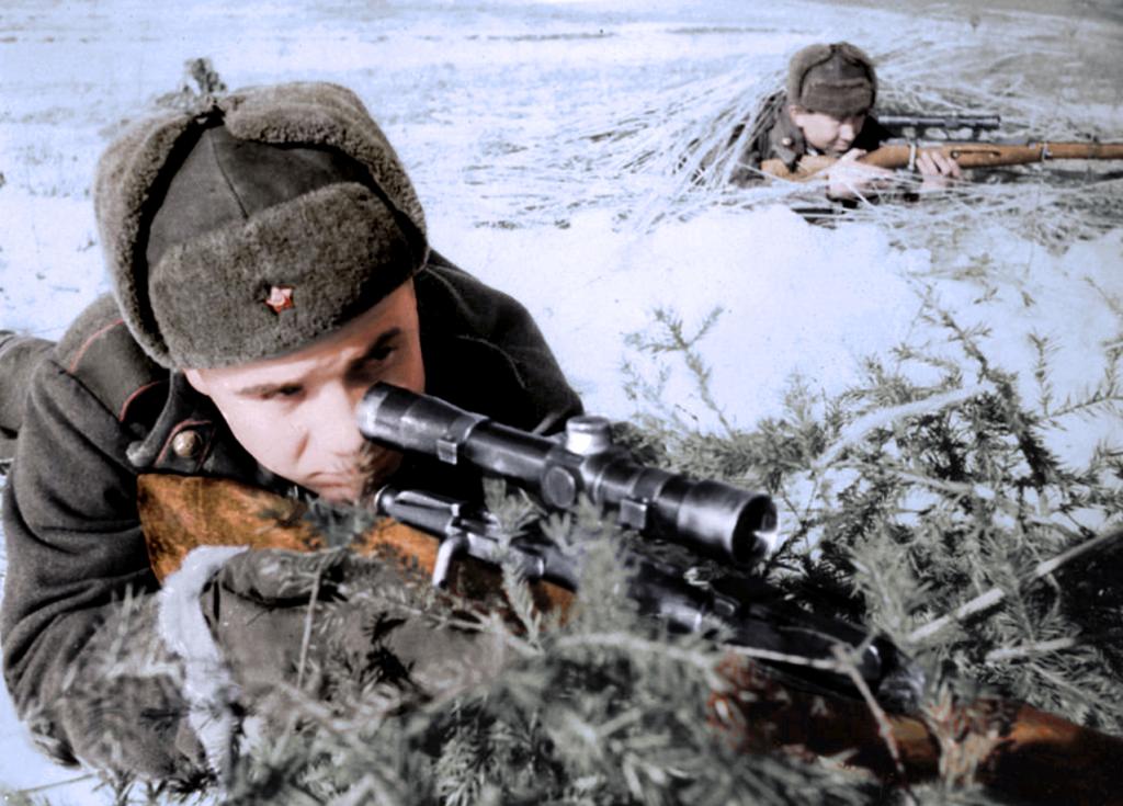 Почему советские снайперы иногда щадили солдат вермахта