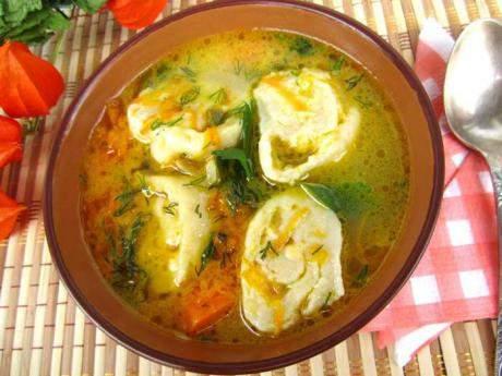 куриный суп с сыром рецепт с фото