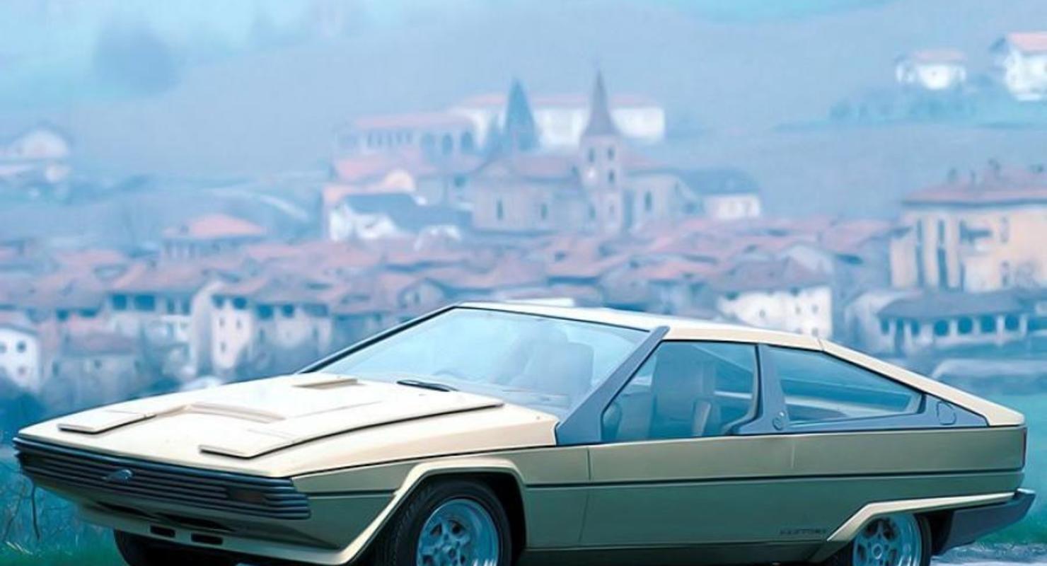 Jaguar Ascot: Странный концепт от компании Bertone Автомобили