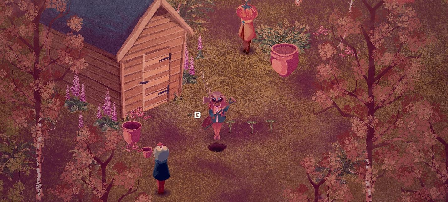 Трейлер симулятора жизни The Garden Path с необычным визуальным стилем adventures,arcade,pc,ps,strategy,xbox,Аркады,Игры,Приключения,Стратегии
