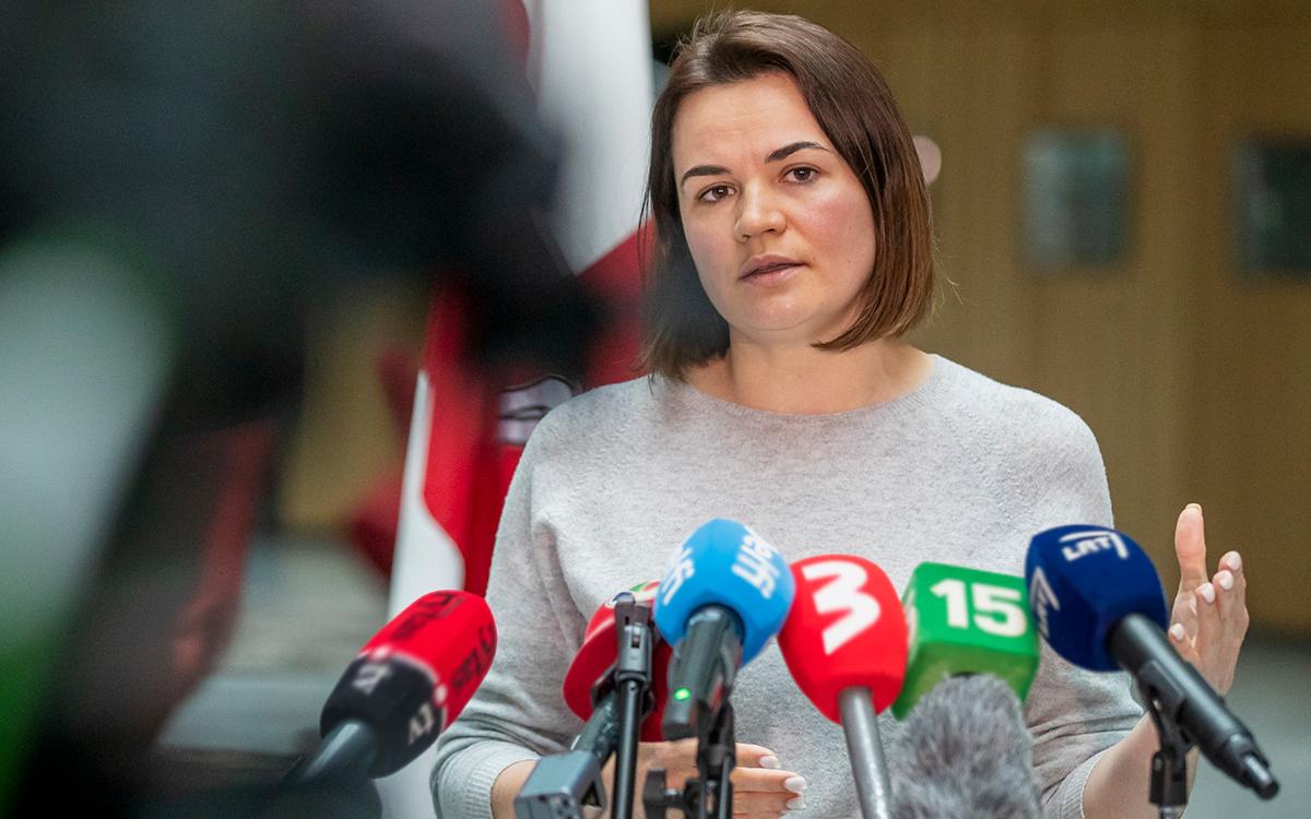 Тихановская потребовала международного расследования посадки Ryanair
