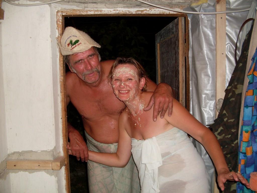 увидите порно секс с деревенской бабой в бане запустила