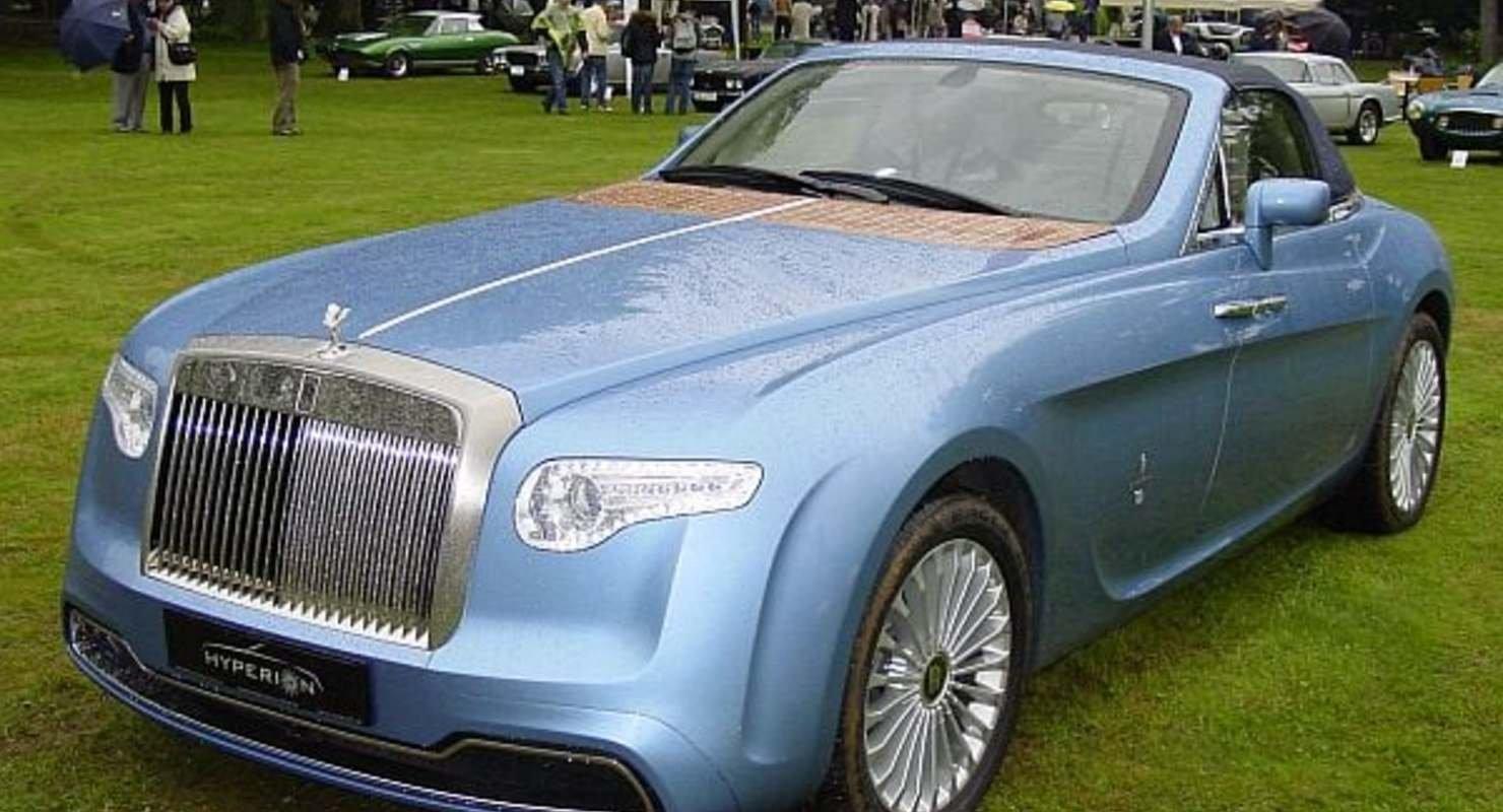 Редкие и необычные автомобили Rolls-Royce Автомобили