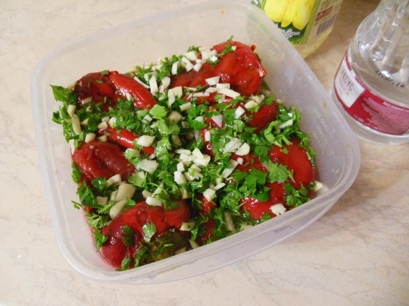 Сербский салат из перца. В сезон готовлю постоянно