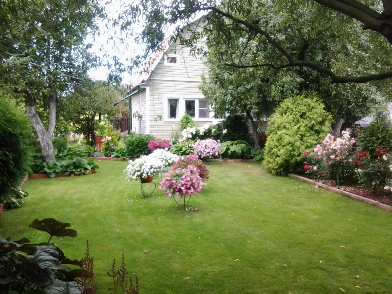 Сад Ларисы..