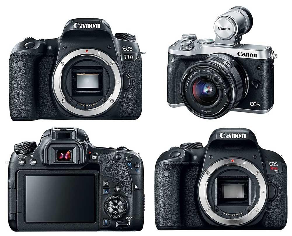 Сanon представил сразу три новы фотокамеры